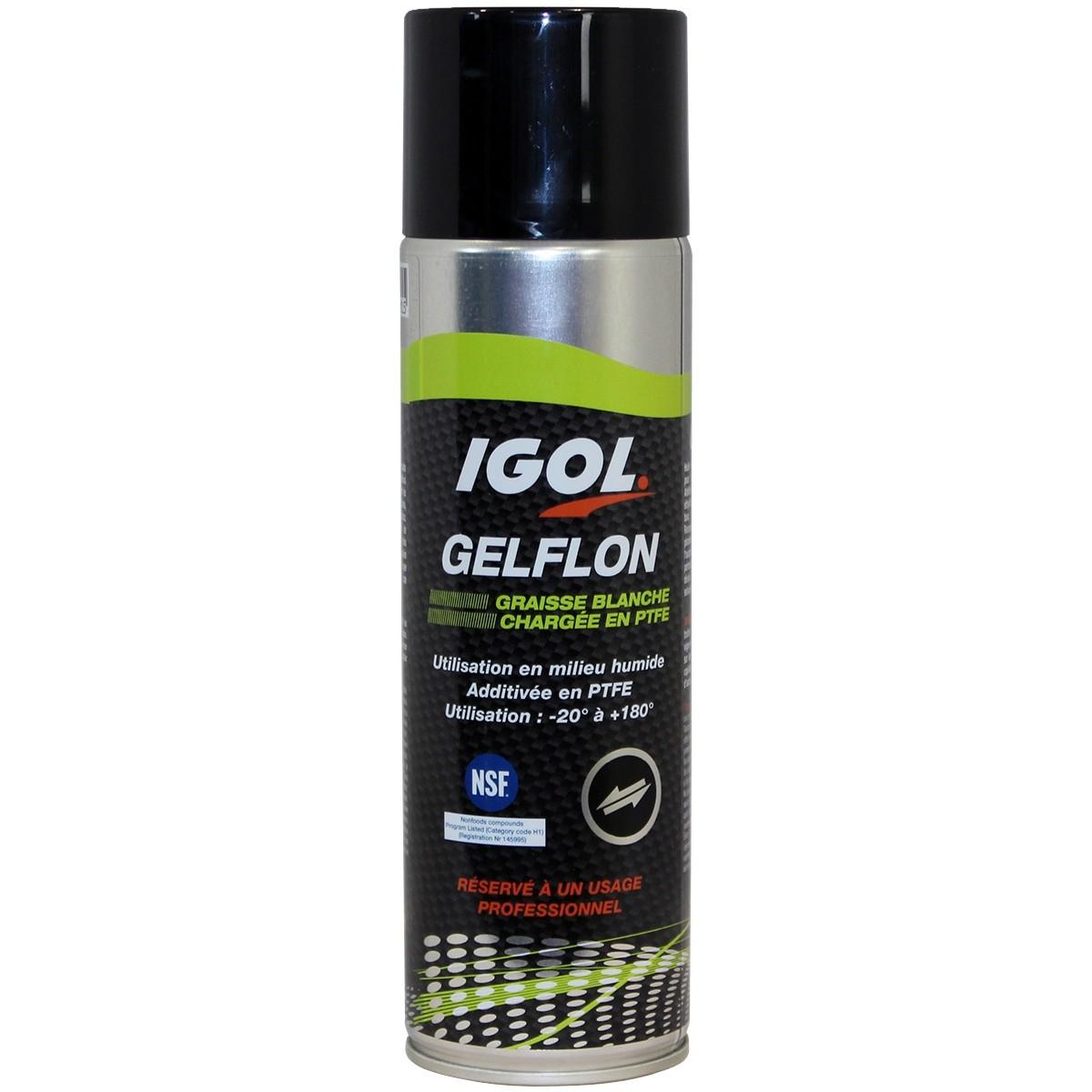 Lubrifiant IGOL pour lames de taille-haies - 400 ml