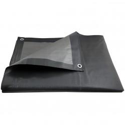 Bâche de protection ultra résistante - 200 g/m² - 10 x 15 mètres