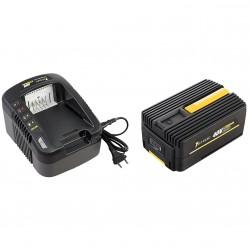 Pack chargeur + batterie GT ELEC 40 Volts - Capacité 4 Ah